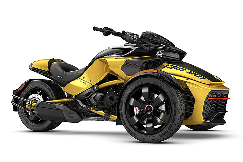 2017 Can Am Spyder F3 And Rt First Look Review Rider