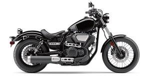 2017 Yamaha Star Bolt in Raven