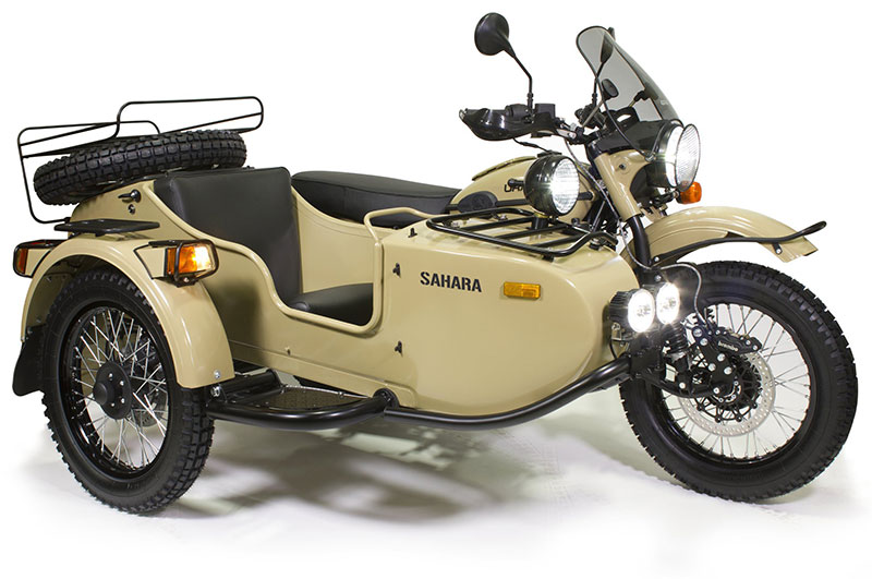 First Look Review: 2016 Ural Limited Edition Sahara
