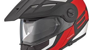 Schuberth E1 in Guardian Red.