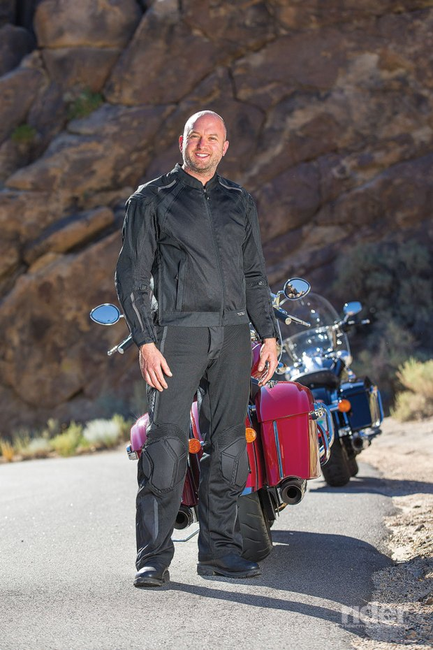 The Fly Cool Pro Mesh Jacket and Pants are a great way to beat the heat. (Photo: Kevin Wing)