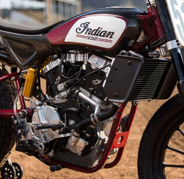 Indian Scout FTR750 AMA Pro Flat Track Racer. (Photo: Indian Motorcycle)