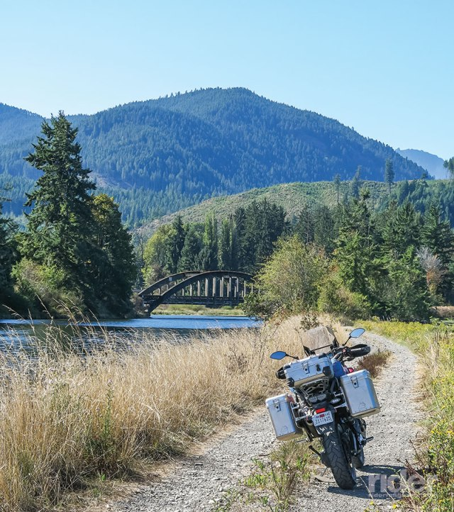 At my back is the Hood Canal, and I am looking up the Hamma Hamma River toward Mount Bretherton in the Olympic National Park.