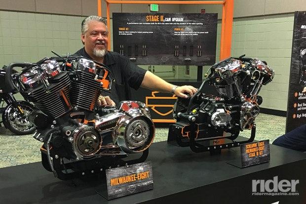 Harley-Davidson Chief Powertrain Engineer Alex Bozmoski was the Milwaukee-Eight project lead.
