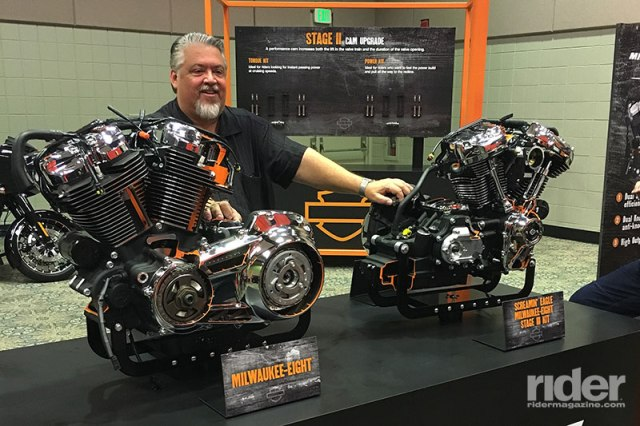 Harley-Davidson Chief Powertrain Engineer Alex Bozmoski was the Milwaukee-Eight project lead.