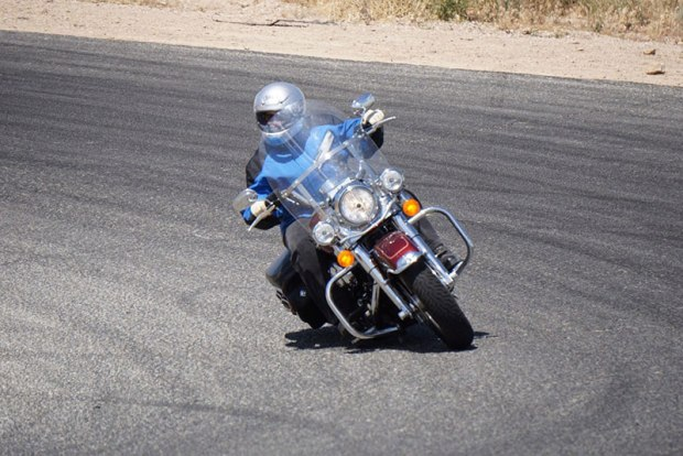 Track days aren't just for sport bikes. There are several organizations around the country that focus on providing closed-course track time and instruction for street riders. Riding on a closed course allows you to focus on what you're learning: body positioning, throttle control, braking, line choice and more, rather than what might be lying around the next bend in the road. (Photo: Street Masters)