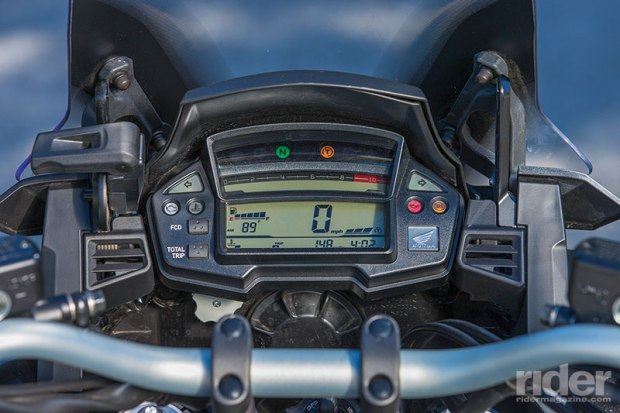 The Honda's traction control can be turned off but its ABS cannot. Its all-digital instrumentation is the most basic of the bunch.