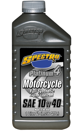 Use a high-quality synthetic oil if you know you'll be taking full advantage of a closed-circuit track (i.e. you'll be riding hard and near your bike's redline).