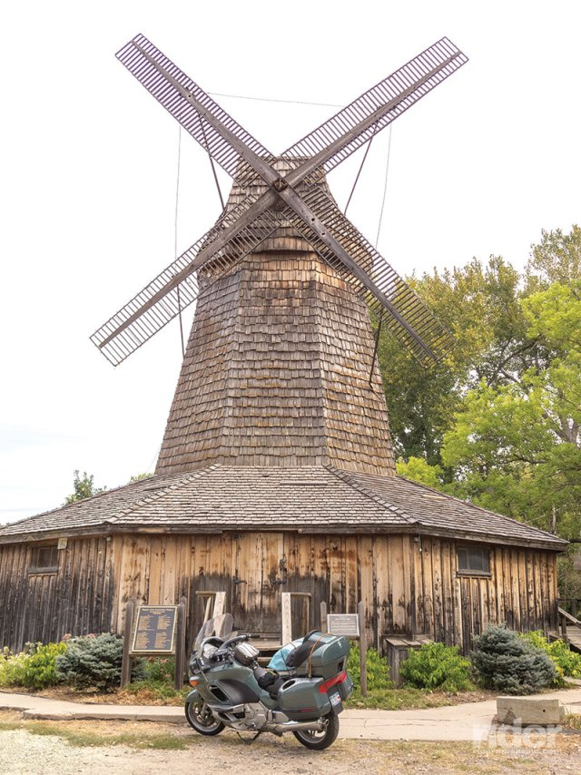The Old Dutch Mill in Smith Center, Kansas, was built by a German immigrant in the 1870s to grind corn and wheat.