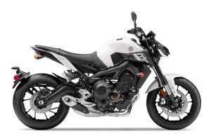 2017 Yamaha FZ-09 in Electric White