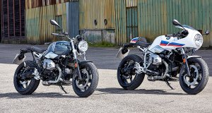2017 BMW R nineT Pure and BMW R nineT Racer