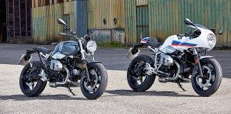 2017 BMW R nineT Pure and BMW R nineT Racer