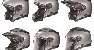 "The Nolan N44 ""crossover"" helmet is six helmets in one!"