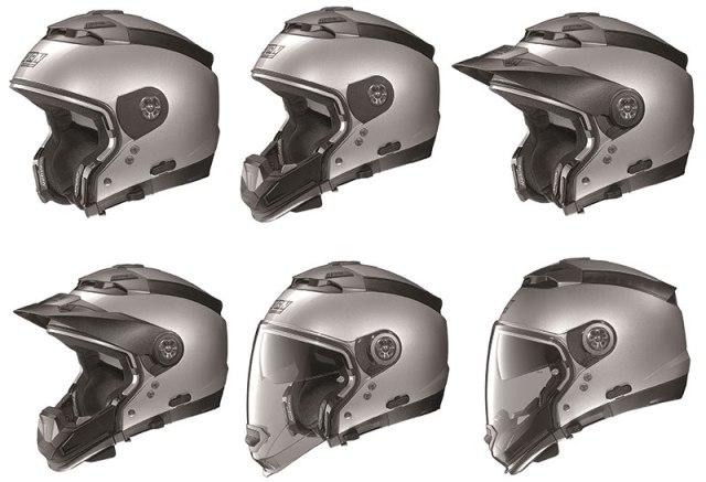 """The Nolan N44 """"crossover"""" helmet is six helmets in one!"""