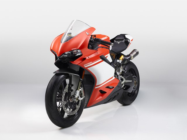 The Ducati 1299 Superleggera.