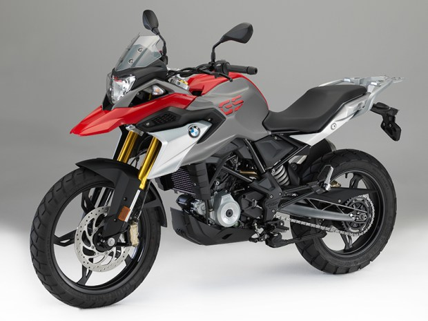 Joining the 313cc, single-cylinder G 310 R roadster in BMW's lineup is the new G 310 GS.