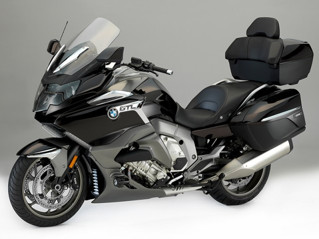BMW's 6-cylinder, 160-horsepower luxury tourer, the K 1600 GTL, has been updated for 2017 with Dynamic ESA, optional Reverse Assist and Shift Assistant Pro, updated styling and more.