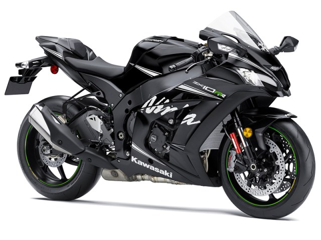 Based on the new-for-2016 ZX-10R, the RR gets engine upgrades, an updated quickshifter, forged wheels and a solo seat.
