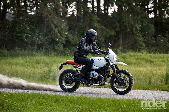 If it handles anything like the R nineT Scrambler, the Urban G/S should be a hoot to ride on dirt roads.
