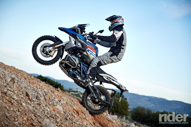 The 2017 BMW R 1200 GS Rallye was designed with the off-road rider in mind.