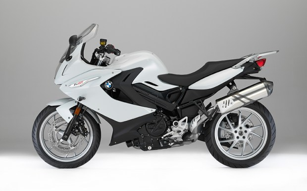 2017 BMW F 800 GT in Lightwhite non-metallic.