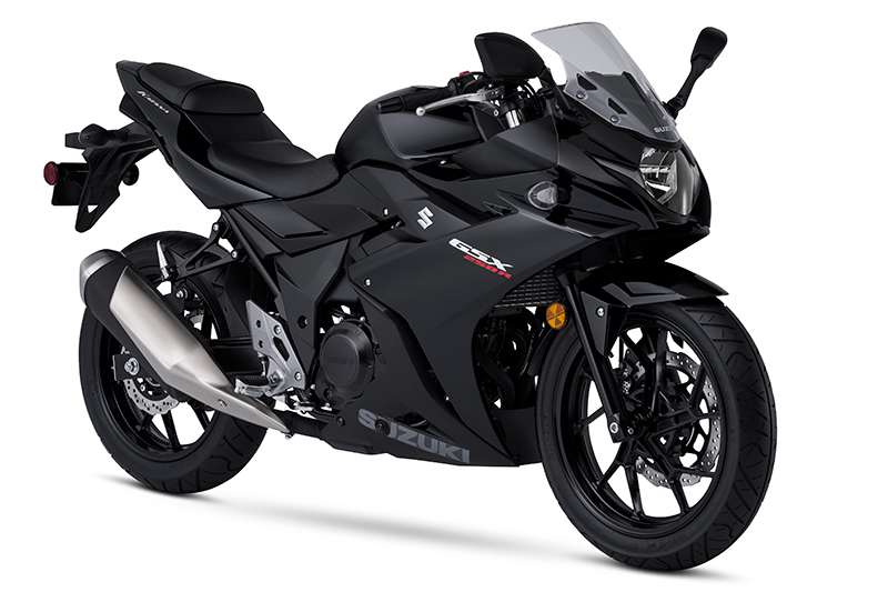 2018 suzuki 250r. modren 250r the suzuki gsx250r comes in pearl glacier nebular white or  black in 2018 suzuki 250r