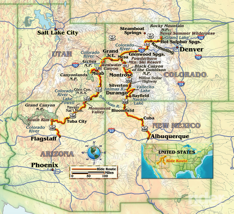 Riding The Headwaters Of The Colorado River Rider Magazine
