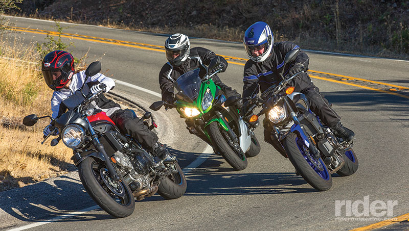 Small To Middleweight Bikes Are All The Rage Nowadays And For