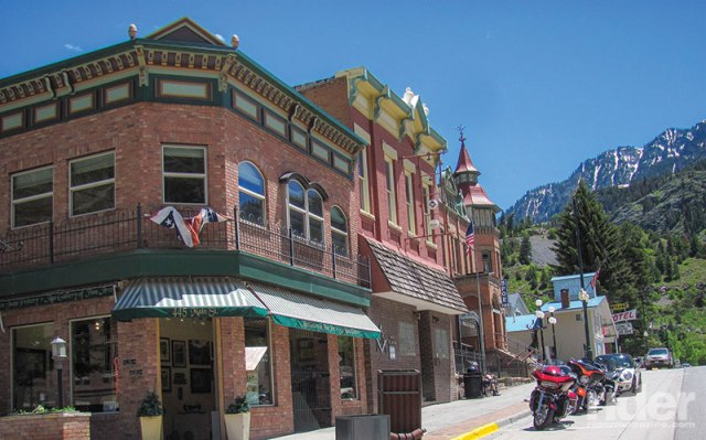 Ouray (pronounced YOU-ray), at the north end of the Million Dollar Highway, is known as Little Switzerland; its Victorian architecture provides a scenic contrast to the steep mountains surrounding it.