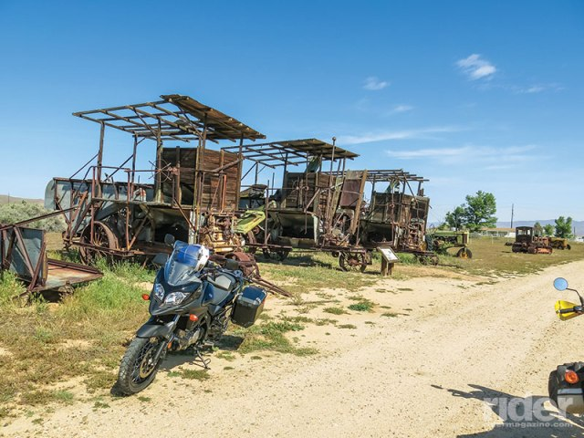 Long gone are the horse and the plough; for the last hundred years farming has taken a great deal of capital investment,  as evidenced by these 90-year-old machines sitting out on the Carrizo Plain.