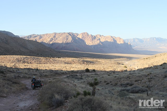 Descending out of the mountains and into the valley toward Nevada State Route 160, my spirits rose. Not only was the scenery breathtaking, but I knew I was on the homestretch and would reach the finish line soon!