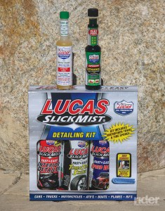 Lucas Oil Products.