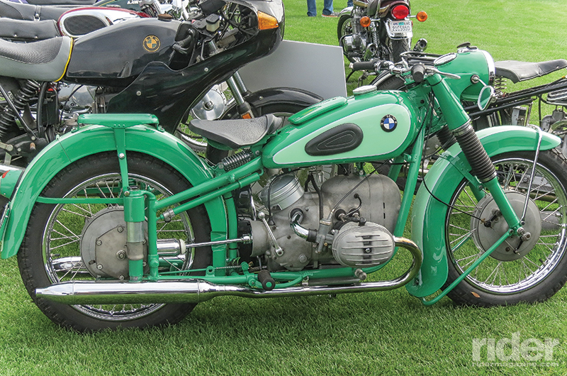 The quail motorcycle gathering 2016 rider magazine for Dark green paint job