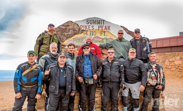 A run up the 19-mile Pikes Peak Highway, climbing to 14,115 feet,  is great fun and mildly challenging, but the real pleasure may be in eating the scrumptious doughnuts cooked in the coffee shop at the top.