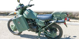 1996 Harley-Davidson MT350E. Owner: Chris Backs, Santa Maria, California.