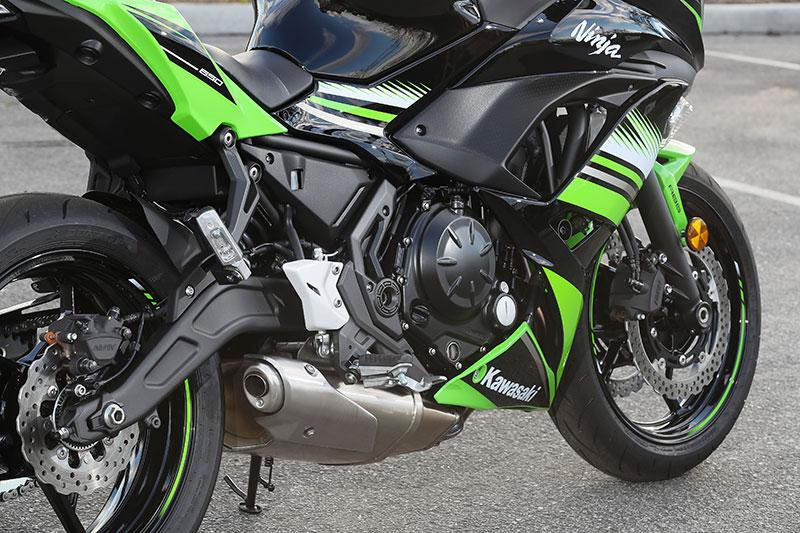 2017 kawasaki ninja 650   first ride review   rider magazine