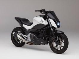 Honda Riding Assist self-balancing concept bike. (Photo courtesy of Honda)