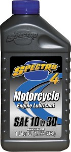 Spectro 4 Motorcycle Oil