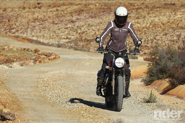 Street Scrambler off-road