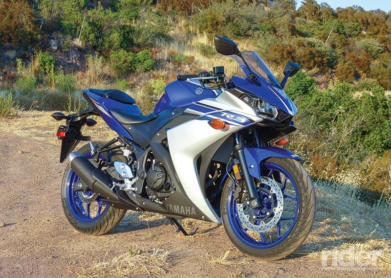 2016 yamaha yzf r3 touring test rider magazine