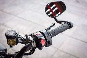 2017 Triumph Street Triple RS right handlebar