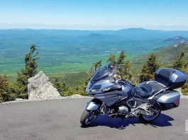 There are several lay-bys on Whiteface Mountain Memorial Veterans Highway where you can safely pull over to enjoy the view.