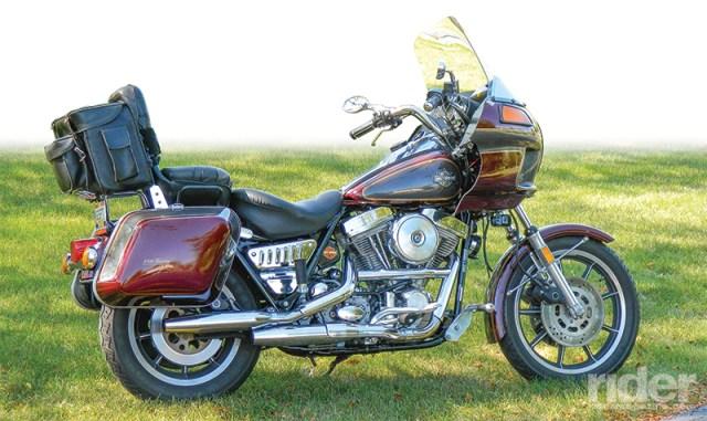 1985 Harley-Davidson FXRT Sport Glide. Owner: Gary Watkins, Orient, Ohio.