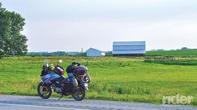 On the border from Iowa into Nebraska.