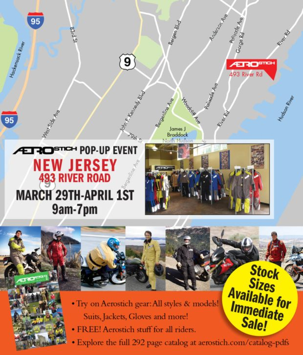 Aerostich New Jersey Pop-Up Event