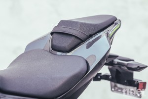 Although I found the Z900 to be comfortable enough for a full day in the saddle, a passenger might have a different opinion.
