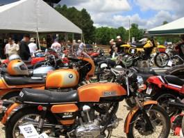 Vintage bikes at the 2016 AMA Vintage Motorcycle Days