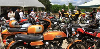 Vintage bikes at the 2016 AMA Vintage Motorcycle Days