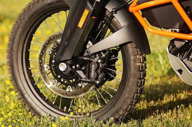 2017 KTM 1090 Adventure R front wheel