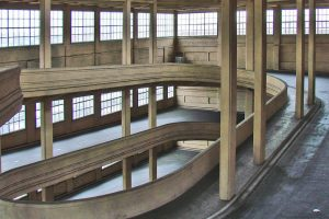 Lingotto Turin Italy spiral ramp